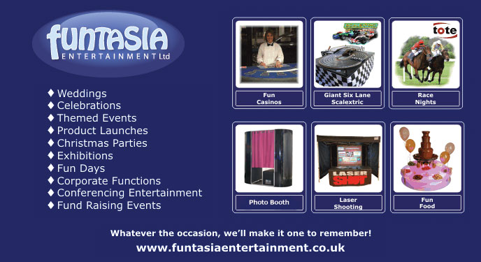 Click here to visit the 'Funtasia Entertainment' website